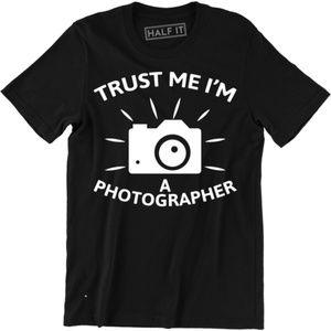 Trust Me I Shoot People I'm A Photographer T-shirt